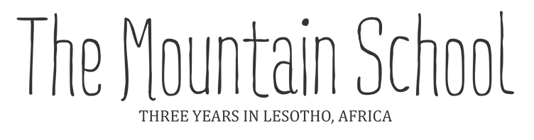Three years living and learning in Lesotho