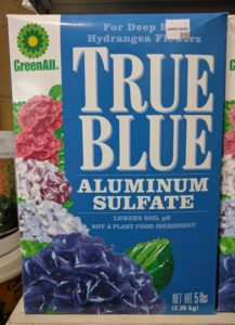 aluminum sulfate for blueberries