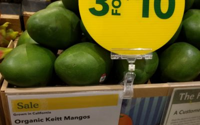 I go to Whole Foods Market once a year — to buy California-grown mangos