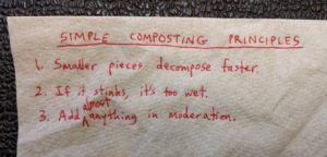 simple composting principles