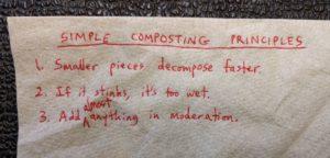 simple composting principles