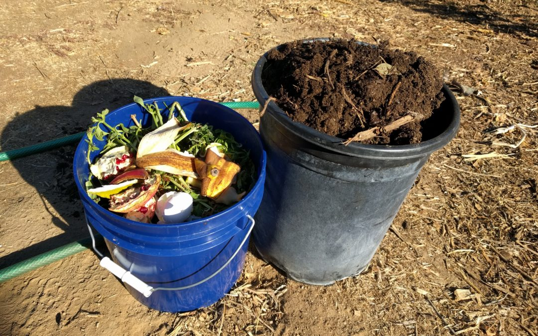 Simple composting