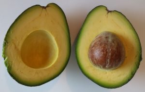 Sir-Prize avocado cut in half