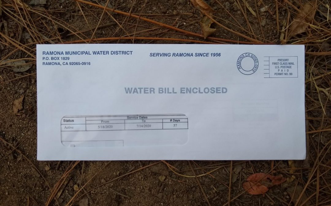 Lowering a food garden's water bill