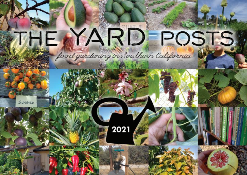 Southern California food gardening calendar for 2021